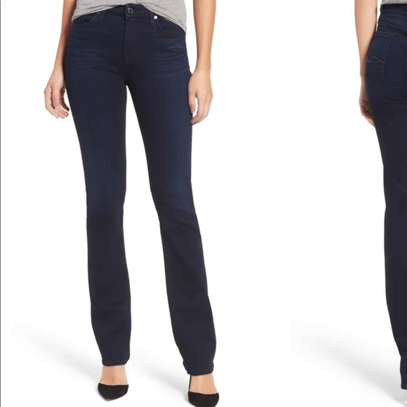 7 For All Mankind Denim - 7 For All Mankind Kimmie Straight Leg 31/34 inseam